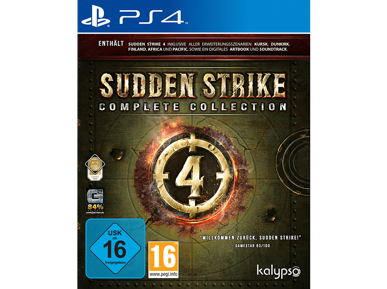 Sudden Strike 4: Complete Collection [PlayStation 4]