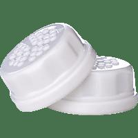 LIFEFACTORY 13064 Schraubverschlusskappen Weiß