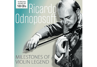 Ricardo Odnoposoff - Milestones of A Violin Legend CD