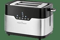 PROFI COOK PC-TA 1170 Toaster Schwarz/Silber (920 Watt, Schlitze: 2)