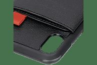 HAMA Red Sensation No. 1 , Backcover, Apple, iPhone X, iPhone XS, Polycarbonat, Polyurethan, Textil, Thermoplastisches Polyurethan, Schwarz