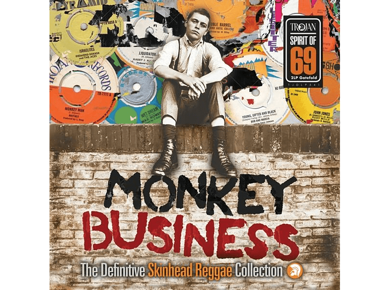 VARIOUS - Monkey Business:The Definitiv Skinhead Reggae Coll [Vinyl]