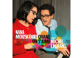Nana Mouskouri - Quand On S'Aime-Tribute To Michel Legrand - (CD)