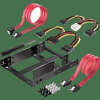DIGITUS Einbaurahmen Montage Kit für Festplatten