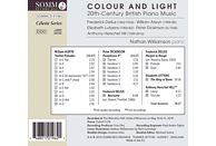 Nathan Williamson - Colour and Light: 20th-Century British Piano Music [CD]