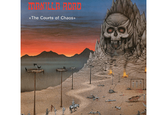 Manilla Road - The Courtys Of Chaos  - (CD)