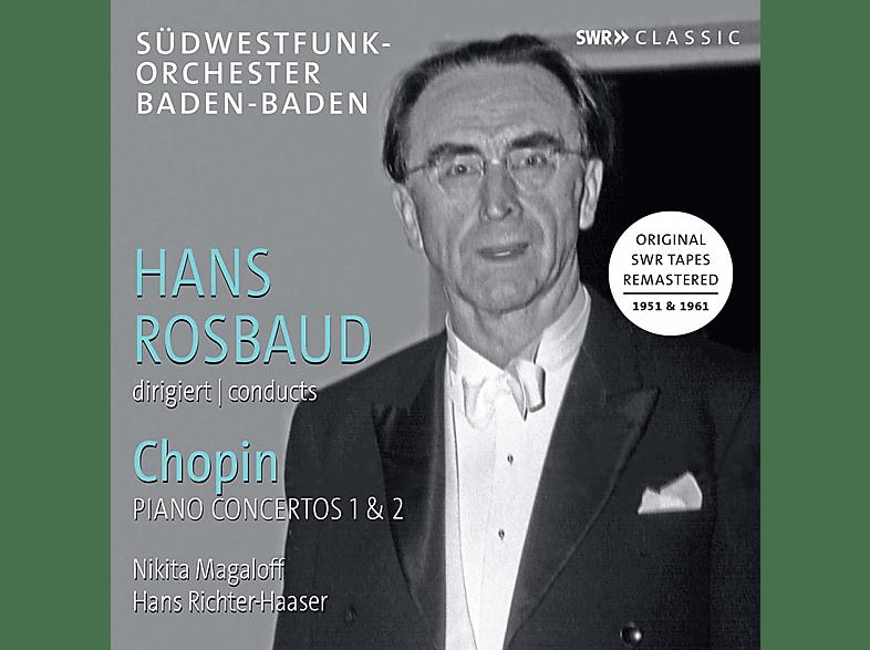 Nikita Magaloff, Hans Richter-Hasser, Südwestfunk-orchester Baden-baden - Chopin: Klavierkonzerte 1 & 2 [CD]