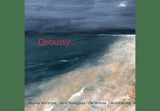Günter Wehlinger, Karin Nakagawa, Urs Wiesner, Andre Buser - Debussy  - (CD)