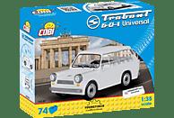 COBI GMBH Bausatz - Trabant 601 Kombi (74 Teile) Bausatz, Weiß