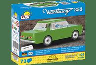 COBI Bausatz - Wartburg 353 (73 Teile) Bausatz, Grün