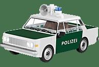 COBI Bausatz - Wartburg 353 Polizei (84 Teile) Bausatz, Grün/Weiß
