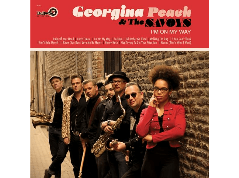 Georgina Peach & The Savoys - I'm On My Way [CD]