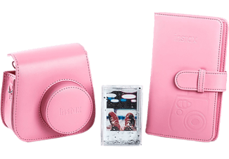 FUJIFILM Instax Mini 9 Bundle - Sac photo (Rose)