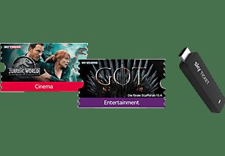 SKY Ticket inklusive 2 Monate Fiction TV Stick, Schwarz