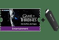 SKY Ticket inklusive 3 Monate Entertainment TV Stick, Schwarz