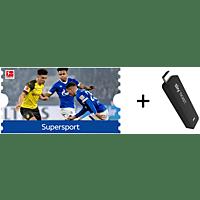 SKY Ticket inklusive 1 Monat Super Sport TV Stick, Schwarz