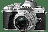 OLYMPUS OM-D E-M10 Mark III Systemkamera 16.1 Megapixel mit Objektiv 14-42 mm, 7,6 cm Display Touchscreen, WLAN