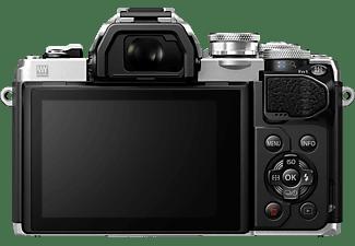 OLYMPUS OM-D E-M10 Mark III Systemkamera mit Objektiv 14-42 mm, 7,6 cm Display Touchscreen, WLAN