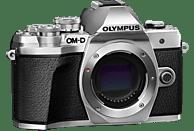 OLYMPUS OM-D E-M10 Mark III Systemkamera 16.1 Megapixel mit Objektiv 14-42 mm , 7.6 cm Display   Touchscreen, WLAN