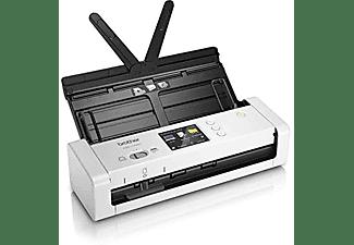 Escáner - Brother ADS-1700W, hasta 25hpm, resolución óptica 600 x 600 PPP, WiFi, Blanco