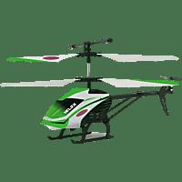 JAMARA KIDS Helox 3+2Kanal Heli R/C Helikopter, Weiss/Grün/Schwarz