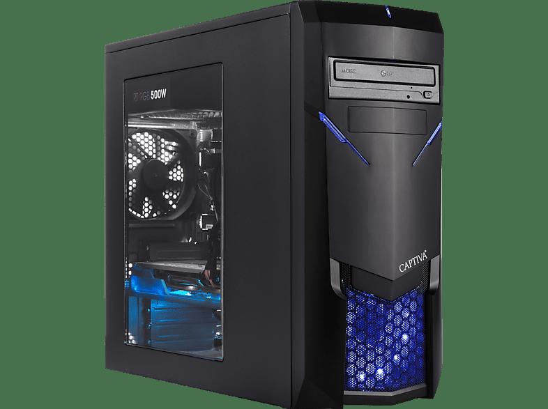 CAPTIVA Captiva Highend Gaming I49-244, Gaming PC mit Core™ i7 Prozessor, 16 GB RAM, 240 GB SSD, 1 TB HDD, GeForce® RTX 2070, 8 GB