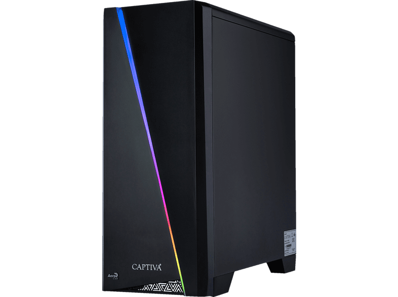 CAPTIVA Highend Gaming I49-250 Wasserkühlung, Gaming PC mit Core™ i9 Prozessor, 32 GB RAM, 480 GB SSD, 1 TB HDD, GeForce® RTX™ 2080 SUPER, 8 GB
