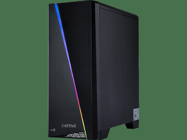CAPTIVA Highend Gaming I49-254 Wasserkühlung, Gaming PC mit Core™ i9 Prozessor, 32 GB RAM, 960 GB SSD, GeForce® RTX™ 2080Ti, 11 GB