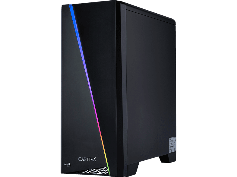 CAPTIVA Highend Gaming I49-253 Wasserkühlung, Gaming PC mit Core™ i9 Prozessor, 32 GB RAM, 480 GB SSD, 1 TB HDD, GeForce® RTX™ 2080Ti, 11 GB