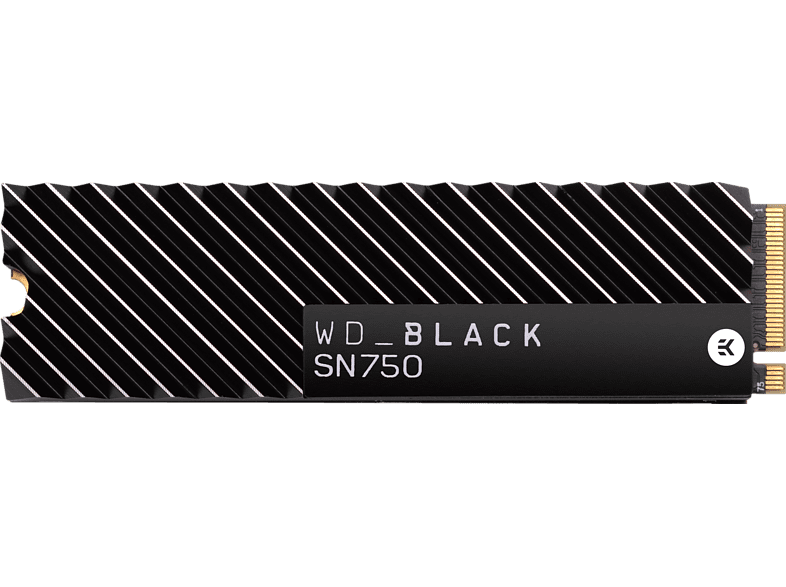 WD Black SN750 NVMe Festplatte, 2 TB SSD, Interner Speicher M.2 via NVMe, intern
