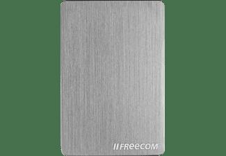 FREECOM Externe mSSD Slim USB 3.1 240GB Metal silver Festplatte, 240 GB SSD, 2,5 Zoll, extern, gebürstetem Metall