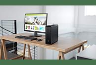 HP Slimline 290-a0021ng, PC, A9 Prozessor, 8 GB RAM, 1 TB HDD, 128 GB SSD, Radeon™ R5, Schwarz