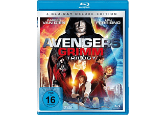 Avengers Grimm 1-3 Trilogy-Box-Edition (3 Discs) Blu-ray