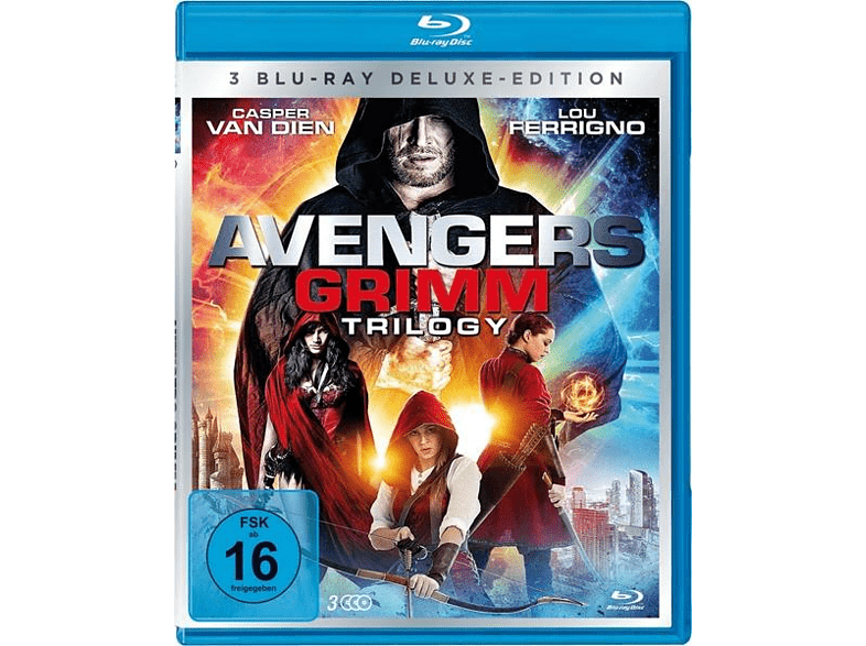 Avengers Grimm 1-3 Trilogy-Box-Edition (3 Discs) [Blu-ray]