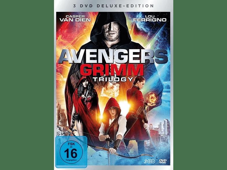 Avengers Grimm 1-3 Trilogy-Box-Edition (3 Discs) [DVD]