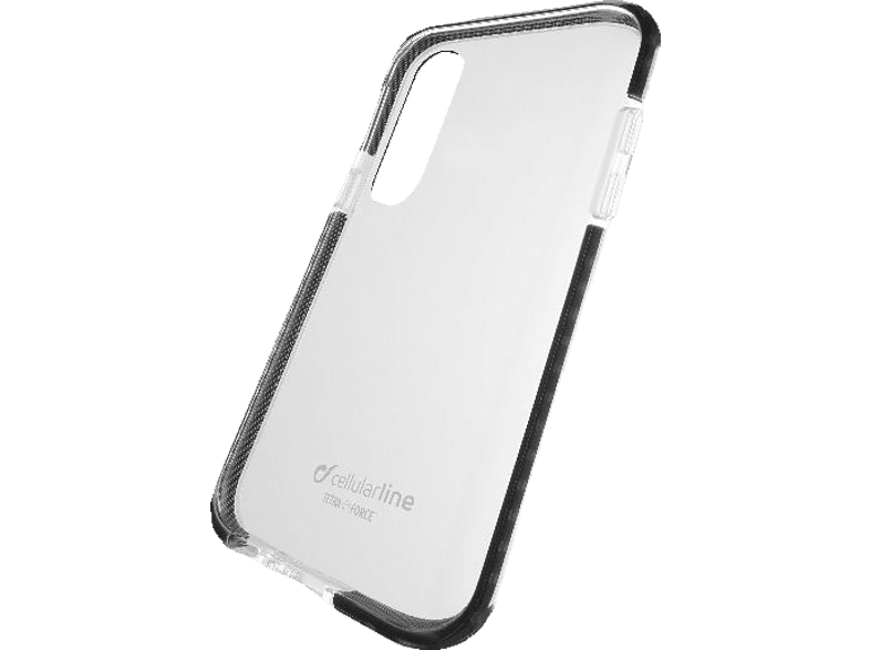 CELLULAR LINE TETRA FORCE , Backcover, Samsung, Galaxy A50, Thermoplastisches Polyurethan + Versaflex™ + Polycarbonat , Transparent