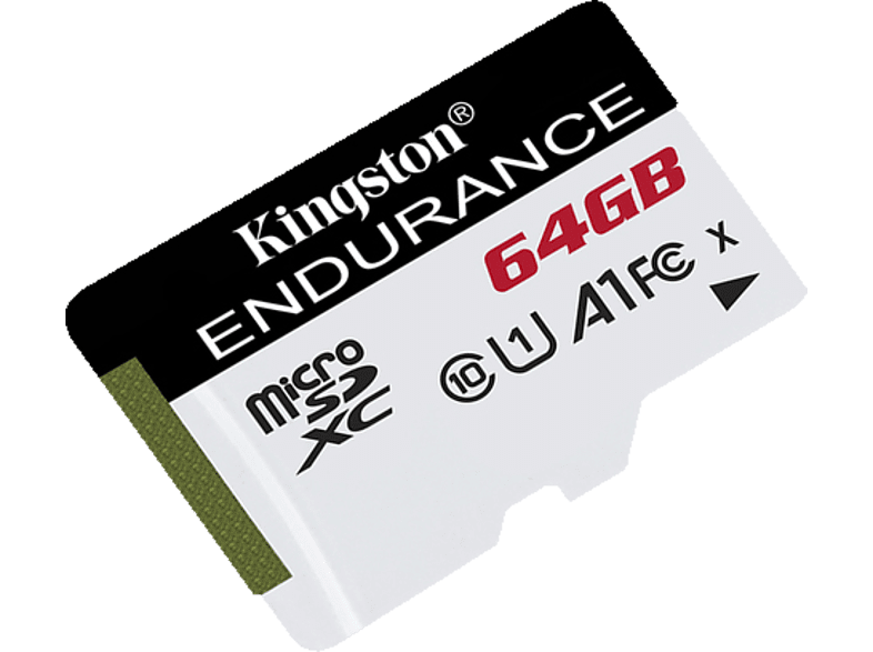 KINGSTON High Endurance, Micro-SD Speicherkarte, 64 GB, 95 MB/s