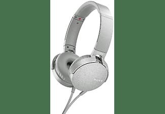 Auriculares - Sony MDR-XB550APB.CE7, EXTRA BASS, Manos Libres, Plateado
