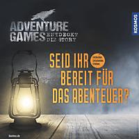 KOSMOS Adventure Games - Das Verlies Bettspiel, Mehrfarbig