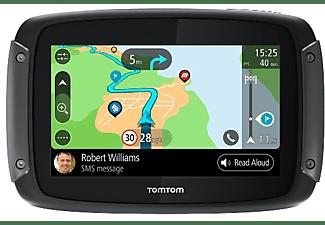 "GPS - TomTom Rider 50, 4.3"", Europa, WiFi, Negro"