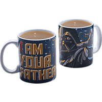 PALADONE PRODUCTS Star Wars I am your father Becher Becher, Mehrfarbig