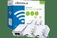 Multiroom WiFi Kit DEVOLO 8407 dLAN 500 WiFi Multiroom 500 Mbit/s Kabellos und Kabelgebunden