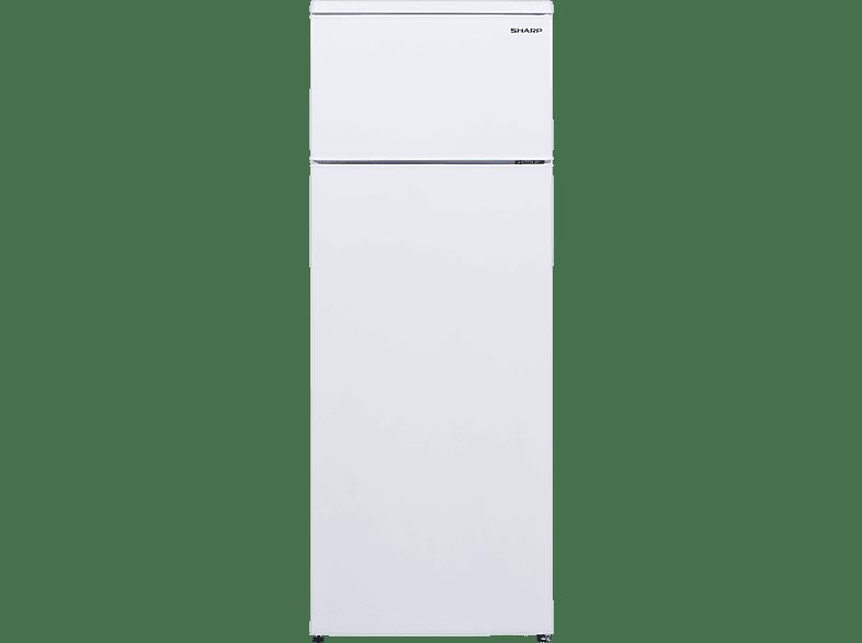 SHARP SJ-T2227M5W-EU   Kühlgefrierkombination (A++, 176 kWh/Jahr, 1440 mm hoch, Weiß)