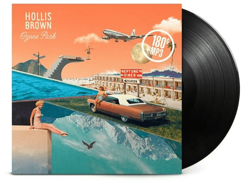 Hollis Brown - Ozone Park (180 Gr.Vinyl+MP3) [LP + Download]