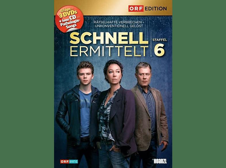 Schnell ermittelt: Staffel 6 [DVD + CD]