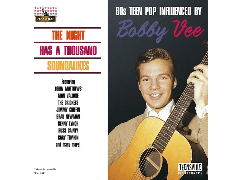 VARIOUS - The Night Has A Thousand Soundalikes [CD]