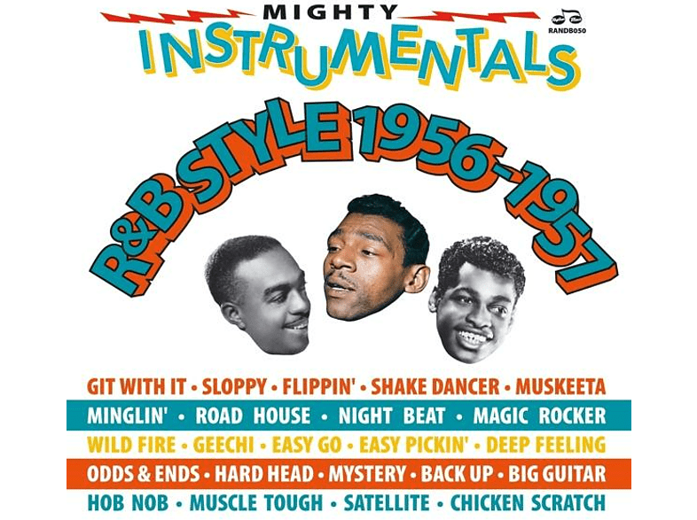 VARIOUS - Mighty Instrumentals R&B-Style 1956-1957 [CD]