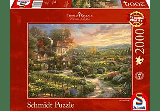 SCHMIDT SPIELE (UE) In den Weinbergen Puzzle Mehrfarbig