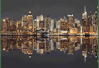 SCHMIDT SPIELE (UE) New York Skyline bei Nacht Puzzle Mehrfarbig
