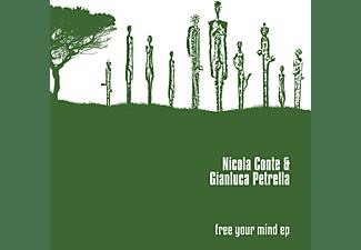 Nicola  Conte, Gianluca Petrella - FREE YOUR MIND EP  - (Vinyl)